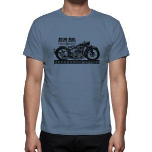 CC Vintage Motorcycles Mockup AF Distressed